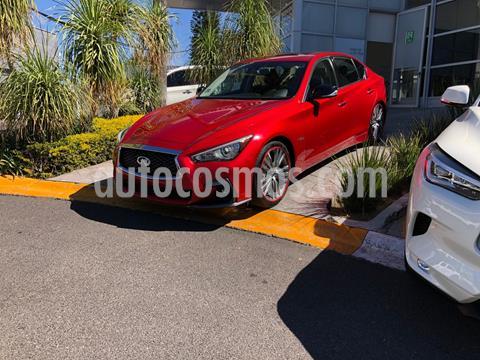 Infiniti Q50 Hybrid usado (2018) color Rojo precio $539,000