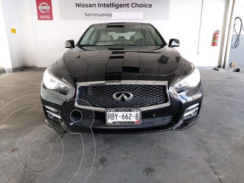 Infiniti Q50 Seduction usado (2017) color Negro precio $320,000