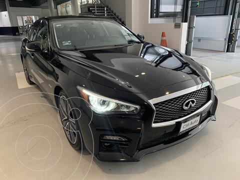 Infiniti Q50 Hybrid usado (2017) color Negro precio $426,000