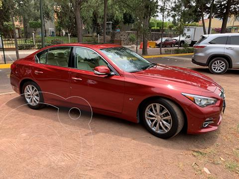 Infiniti Q50 Seduction usado (2016) color Rojo precio $285,000