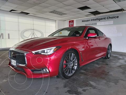 Infiniti Q60 400 Sport usado (2017) color Rojo precio $550,000