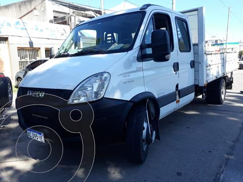 Iveco Daily Chasis Chasis Cabina Doble 70C17 Truck HD usado (2017) color Blanco Banchisa financiado en cuotas(anticipo $2.025.000)