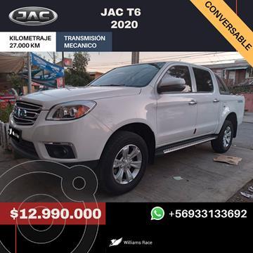 foto JAC T6 2.0L Standard 4x2 Diesel  usado (2020) color Blanco precio $12.990.000
