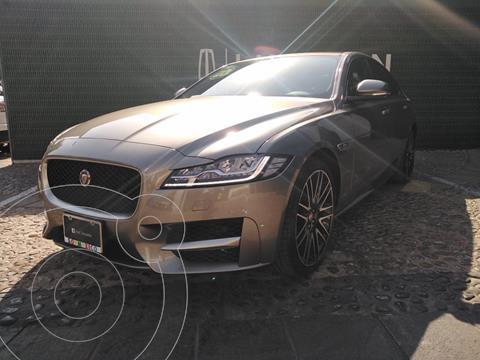 Jaguar XF R-Sport usado (2020) color Bronce financiado en mensualidades(enganche $312,500)