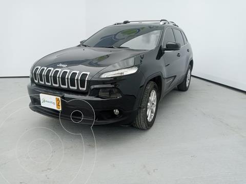 Jeep Cherokee 3.2L 4x4 usado (2015) color Negro precio $71.990.000