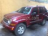 Foto venta carro usado Jeep Cherokee Limited 3.7L Aut 4x4 (2006) color Rojo precio u$s3.350