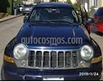 Foto venta carro usado Jeep Cherokee Limited 3.7L Aut 4x4 color Azul precio u$s4.500