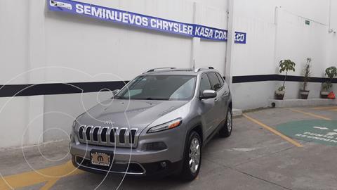 Jeep Cherokee Limited Plus usado (2017) color Plata Dorado precio $390,000