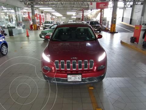 Jeep Cherokee Limited Premium usado (2014) color Rojo precio $240,000