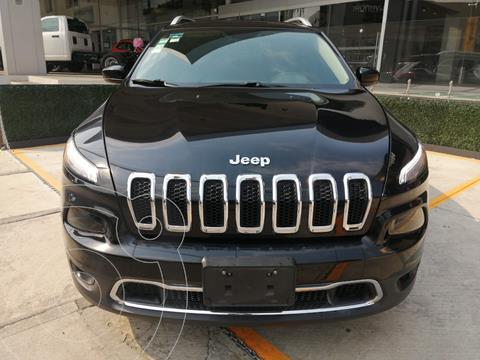 Jeep Cherokee Limited Plus usado (2017) color Negro precio $390,000