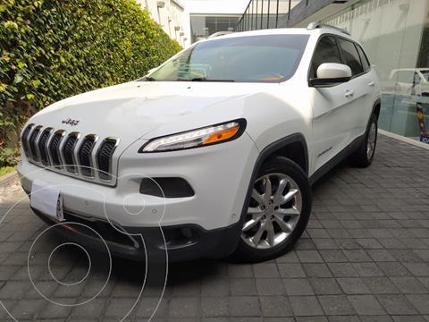 Jeep Cherokee Limited usado (2014) color Blanco precio $240,000