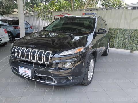 Jeep Cherokee Limited usado (2016) color Negro precio $310,000