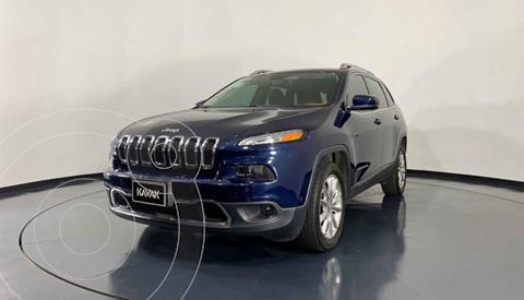 Jeep Cherokee Limited Premium usado (2015) color Azul precio $274,999