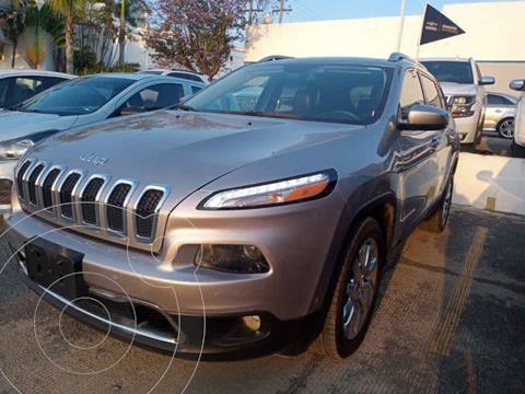 Jeep Cherokee Limited usado (2017) color Plata precio $360,000