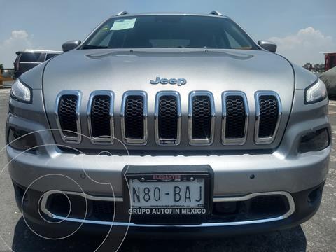 Jeep Cherokee Limited usado (2016) color Plata Martillado financiado en mensualidades(enganche $63,000)