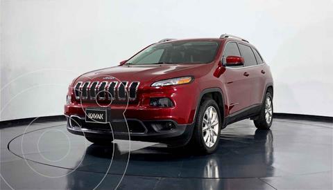 Jeep Cherokee Limited usado (2017) color Rojo precio $422,999