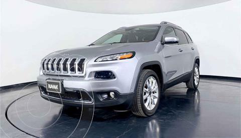Jeep Cherokee Limited usado (2017) color Plata precio $412,999