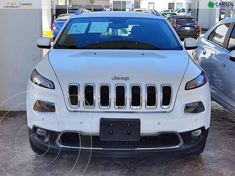 Jeep Cherokee Limited usado (2014) color Blanco precio $280,000