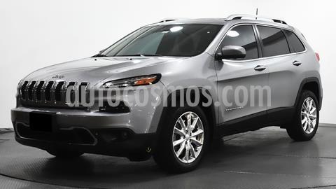 Jeep Cherokee Limited Plus usado (2017) color Plata Dorado precio $375,000
