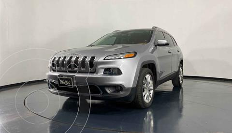 Jeep Cherokee Limited usado (2014) color Plata precio $279,999