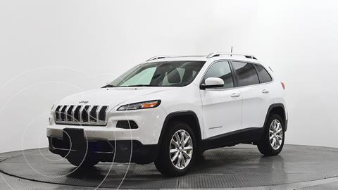 Jeep Cherokee Limited Plus usado (2017) color Blanco precio $368,500