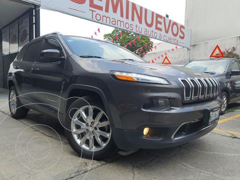 Jeep Cherokee Limited Plus usado (2017) color Gris precio $319,800