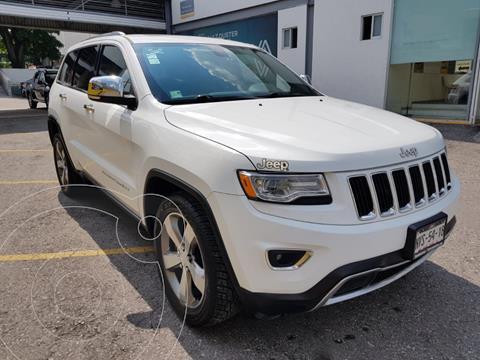 Jeep Cherokee 5 pts. Limited, L4, 2.4l, TA, piel, GPS, RA-18 usado (2015) color Blanco precio $419,000