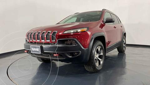 Jeep Cherokee TrailHawk usado (2017) color Rojo precio $447,999