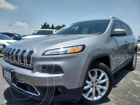 Jeep Cherokee Limited usado (2016) color Plata Martillado financiado en mensualidades(enganche $64,000 mensualidades desde $9,758)
