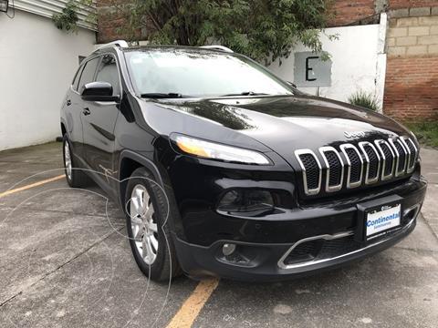 Jeep Cherokee Limited Plus usado (2017) color Negro precio $395,000