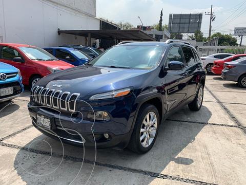 Jeep Cherokee Limited usado (2015) color Azul Marino precio $260,000