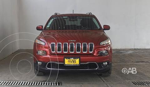 Jeep Cherokee Latitude usado (2014) color Rojo precio $265,000