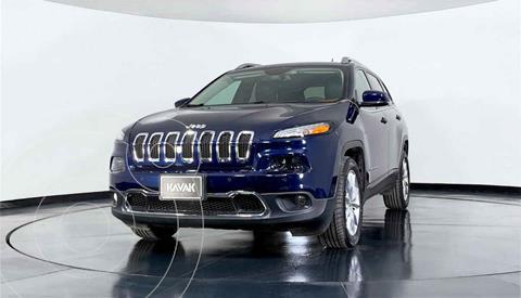 Jeep Cherokee Limited usado (2015) color Azul precio $284,999