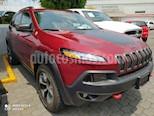Jeep Cherokee TrailHawk usado (2017) color Rojo Cerezo precio $499,000