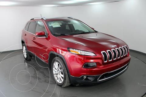Jeep Cherokee Limited Plus usado (2017) color Rojo precio $325,000