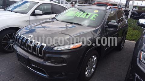 Jeep Cherokee Limited Plus usado (2017) color Gris precio $399,000