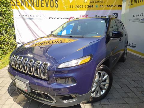 Jeep Cherokee Limited usado (2015) color Azul Acero precio $279,000