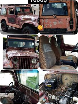 Jeep CJ7 techo de lona usado (1981) color Marron precio u$s1.600