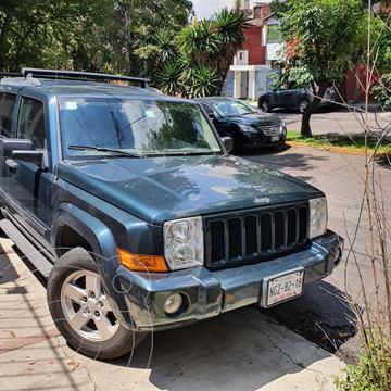 Jeep Commander 5.7L 4x2 Limited Premium usado (2007) color Verde precio $125,000