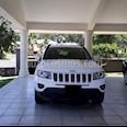 Foto venta Auto usado Jeep Compass 4x2 Limited Premium CVT  (2014) color Blanco precio $205,000