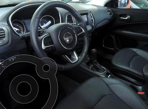Jeep Compass 2.4 4x4 Longitude Aut Plus usado (2018) color Gris precio $4.800.000