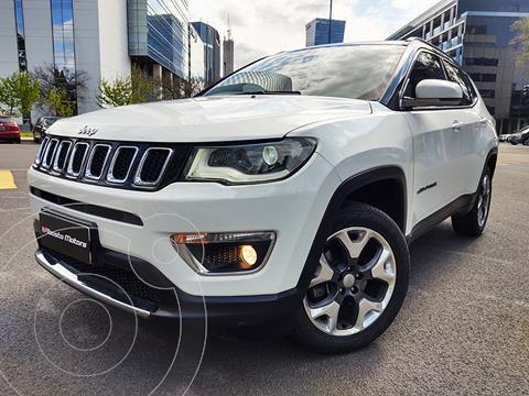 Jeep Compass 2.4 4x4 Limited Aut usado (2018) color Blanco precio $5.890.000
