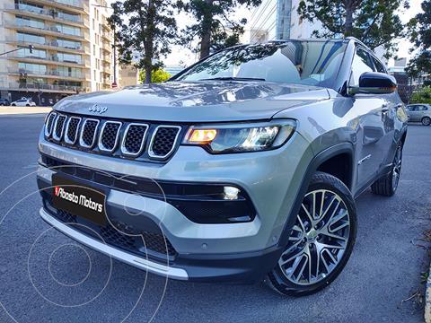 Jeep Compass 1.3 4x2 Limited Aut usado (2021) color Gris precio $7.990.000