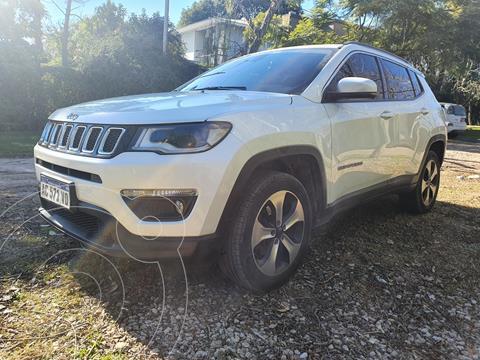 Jeep Compass 2.4 4x4 Longitude Aut usado (2018) color Blanco precio $3.990.000