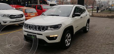 Jeep Compass  2.4L Sport  usado (2018) color Blanco precio $16.500.000