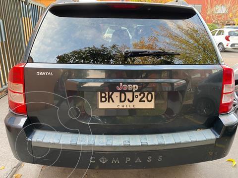 Jeep Compass  2.4L Limited 4x4 Aut usado (2008) color Azul Cosmos precio $8.000.000
