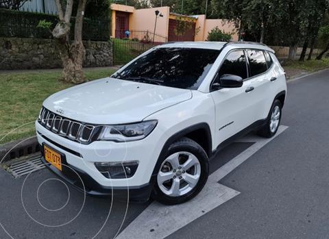 Jeep Compass 2.4L 4x2 Sport  usado (2019) color Blanco precio $79.900.000