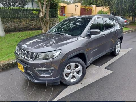 Jeep Compass 2.4L 4x2 Longitude Aut usado (2019) color Gris precio $88.900.000