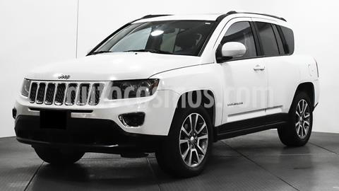 foto Jeep Compass 4x4 Limited CVT usado (2014) color Blanco precio $195,000