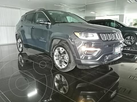 Jeep Compass Limited Premium usado (2018) color Azul Petroleo precio $399,000
